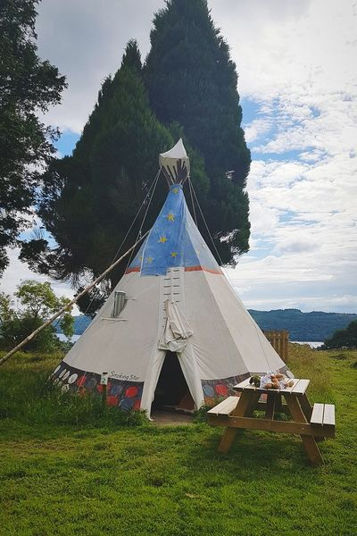 Tipi Camping Glamping Yha Youth Hostel Windermere Lake District Lake District Series Cumbria England Holiday Staycation