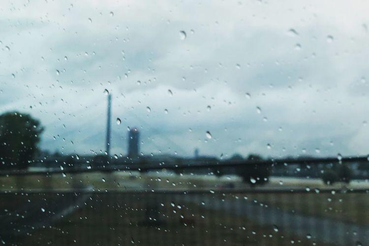 Rain means a