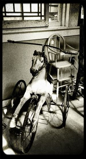 What old movies are made out of. Antiques Rocking Horse High Chair Baby Stuff