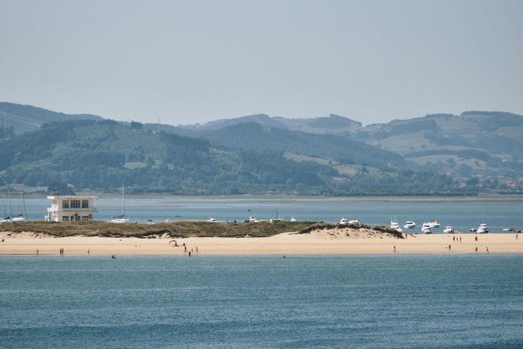 Puntal view from santoña