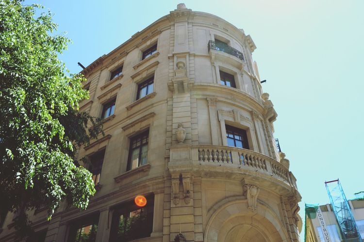 A beautiful house in Barcelona. Took this photo 2 years ago. Taking Photos Check This Out Barcelona Architecture Architecture_collection House Traveling Open Edit Your Ticket To Europe