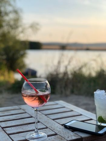 Drink See Am See  Drink Glass Alcohol Food And Drink Refreshment Table Focus On Foreground Wineglass Household Equipment Drinking Glass No People Wine Nature Freshness Straw Close-up Food Outdoors