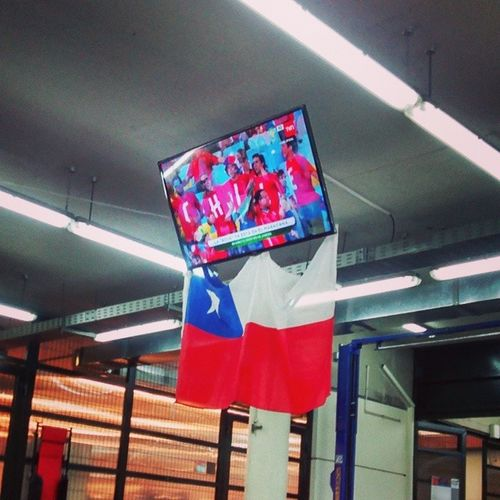 Modo mundial LaRojaDeTodos Chile Inacap Tallerautomotriz TVNHD