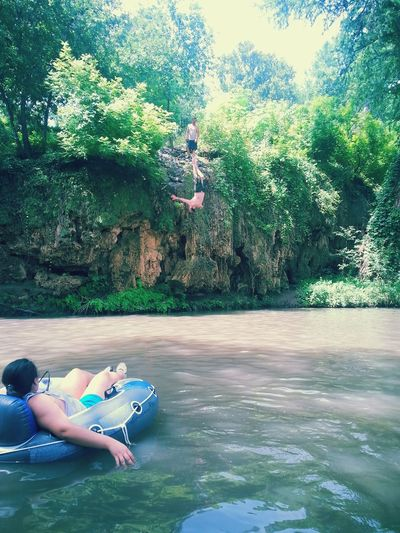 Hanging Out Backflips Cliff Jumping Crazypeople Beautiful Nature