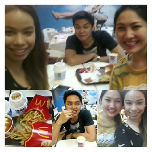 Thanks for the treat bigtime! Tuesdate with bunso and madam @adeleble :)