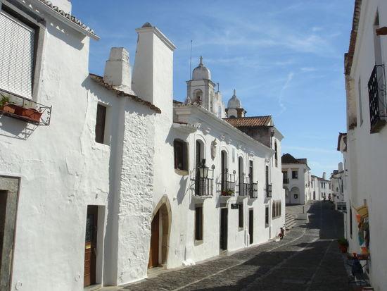 Rua em Monsaraz Monsaraz Castle Old Town Castelo Portugal Alentejo White Houses Casas Caiadas Rua Xisto
