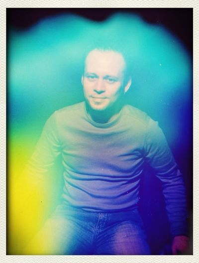 An old aura photograph taken of me. Can you read it?