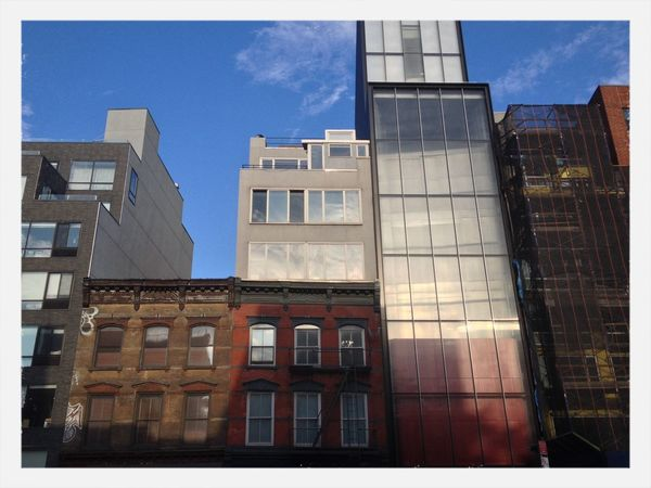 Bowery Architecture No Filter Colors