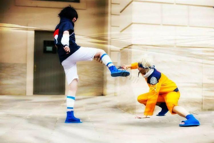 Naruto Uzumaki Sasuke Uchiha Cosplay Anime for more pic and video like my Kuro.x.Orengi page or facebook and youtube!!!