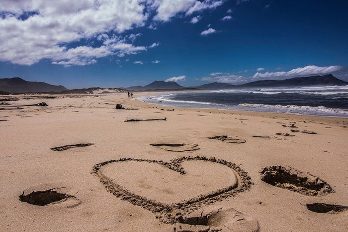 South Africa Beach Beauty In Nature Communication Day Handwriting  Heart Shape Landscape Love Message Nature No People Outdoors Sand Scenics Sea Sky Text