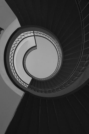 Spandau Arcaden  Stairs Spiral Staircase Urban Geometry Stairways Urban Black & White From My Point Of View Spiral Of Love