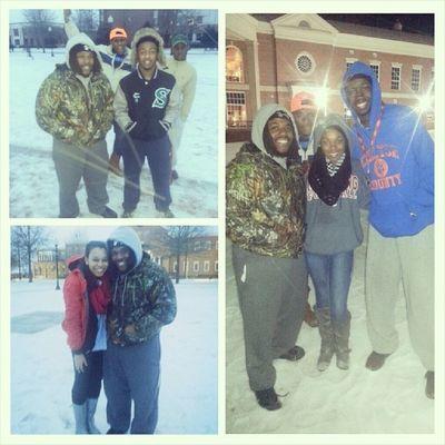 Snow day @ TroyU GoodTimes with my friends!! Noschool