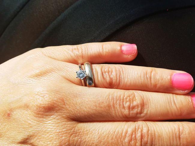 Gift Diamond Facets Human Hand Women Married Diamond Ring Bride Finger Ring Nail Polish Life Events Wife Engagement Ring Diamond - Gemstone Wedding Ring Diamond Shaped Jewelry Gemstone  Precious Gem Ring
