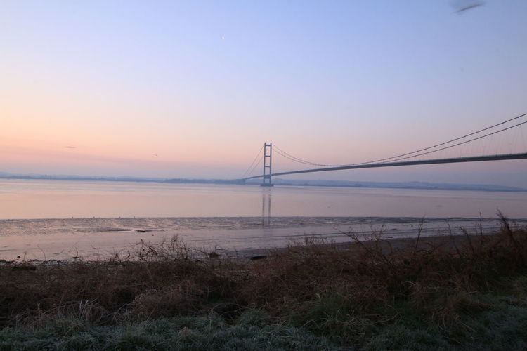 humber bridge sunrise uk