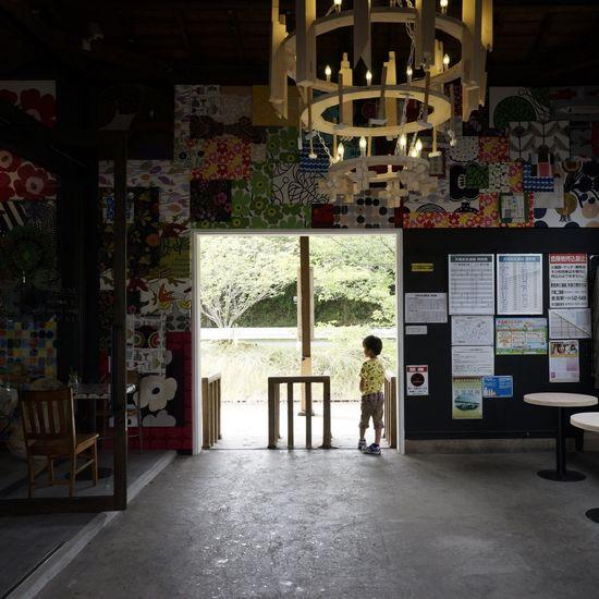 都田駅にて。 都田駅 ドロフィーズインテリア リノベーション マリメッコ Marimekko