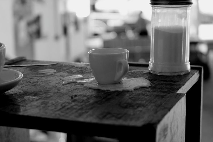 Liquid Lunch Drinking Coffee On The Wax Coffee Break Coffee And Sugar Coffee Time Wax On The Table Interior Views Wax Close-up Coffee Sugar Espresso Visual Feast Indoors  Modern Hospitality