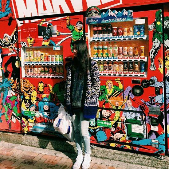 英雄系列?✨✨。Tokyo,Japan Marvel Colorful 阿美橫丁 Ueno