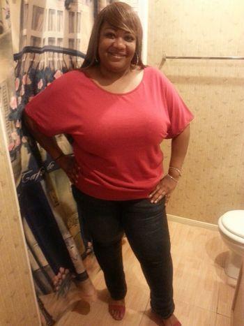 Hello World That's Me Woman Houston