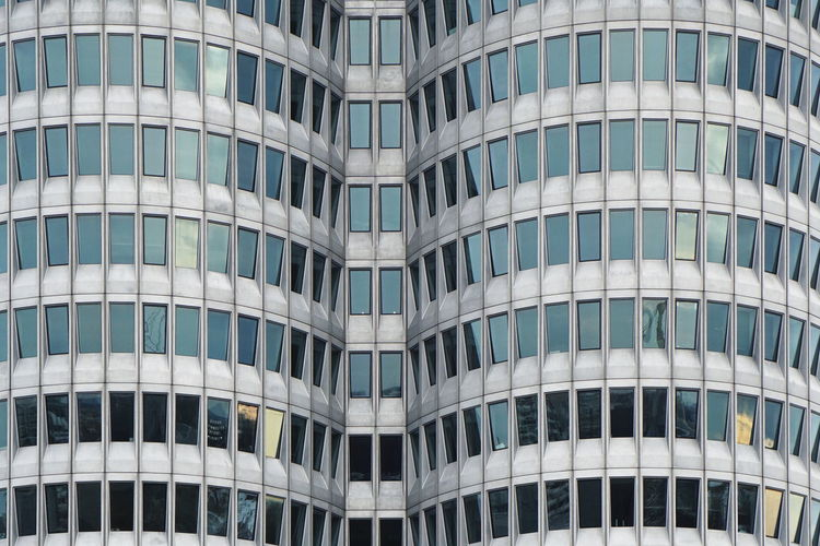Architecture Building Exterior Modern Built Structure Pattern Repetition Glass - Material Building Office Building Exterior Façade Window Modernist Architecture
