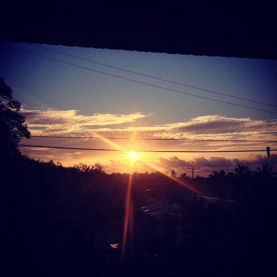 Lahad Datu Tungku malaysia's first sunrise..