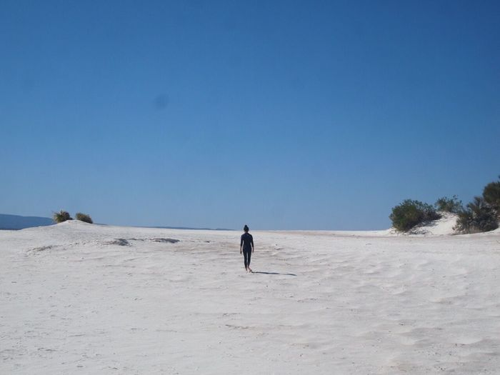 Desert Lonely Myself And I Mountain Freedom Thoughts Alone Looking Forward Mexico Existence
