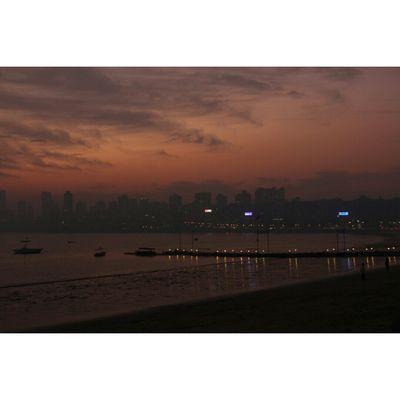 Mumbai MumbaiDiaries Mumbaikar Sunset Hopeforanewbegining Relaxing Peaceful