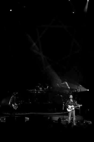 Damon Albarn - Everyday Robot Damon Albarn Sydney Opera House Fuji X-e1 Sydney Concert Concert Photography Blackandwhite