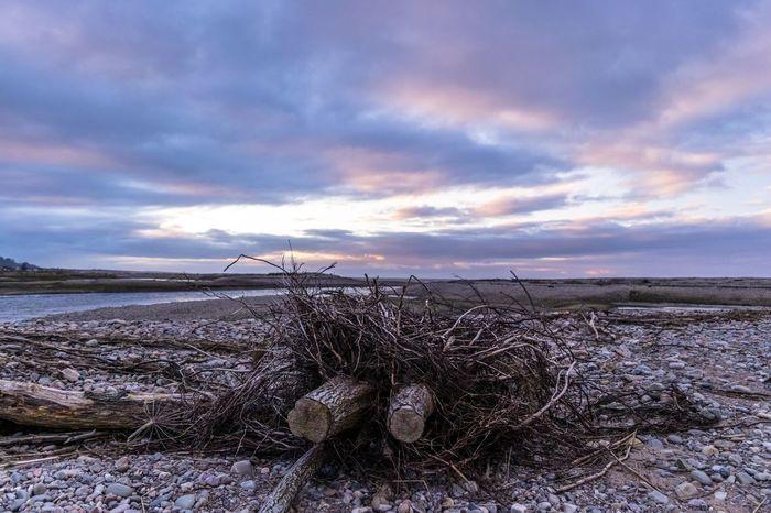 Scotland Moray Spey Bay Sunset