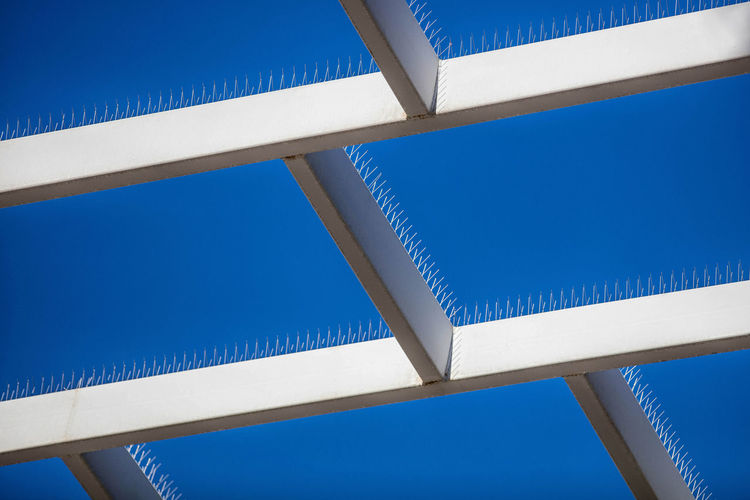 Abstract Architecture Blue California Day No People Oroszphotography Sky White