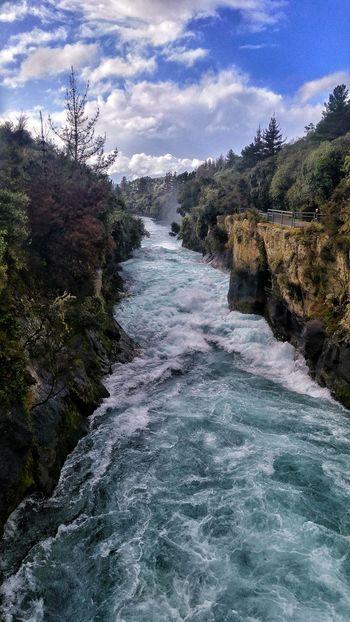 New Zealand Scenery New Zealand Landscape Huka Falls, NZ