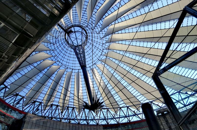 Streetphotography City Dome Concentric Architecture Sky Built Structure Skylight Architectural Design Roof Beam Architectural Feature Ceiling Circular LINE