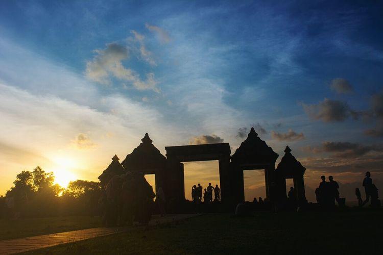 Boko Temple at Yogyakarta (Indonesia) Hanging Out Relaxing Enjoying Life