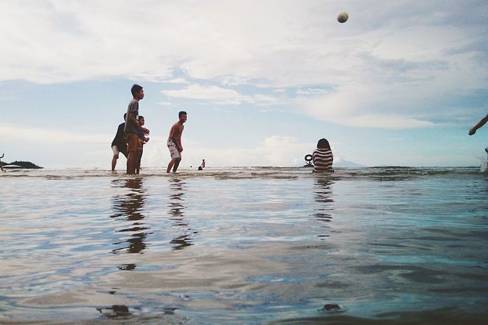 Being A Beach Bum Enjoying The Sun Eyeem Philippines Sea Weekend Beach Volleyball Ethereal Share Your Adventure