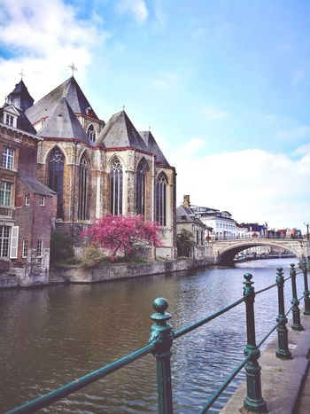 Ghent Building Exterior Architecture Travel Destinations City Outdoors Water EyeEmNewHere EyeEm Best Shots Clear Sky The Week On EyeEem Belgium Beauty In Nature Beauty In Ordinary Things EyeEm Selects Your Ticket To Europe Be. Ready. Stories From The City