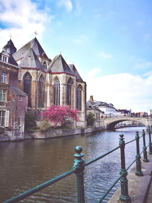 Ghent Building Exterior Architecture Travel Destinations City Outdoors Water EyeEmNewHere EyeEm Best Shots Clear Sky The Week On EyeEem Belgium Beauty In Nature Beauty In Ordinary Things EyeEm Selects Your Ticket To Europe Be. Ready.
