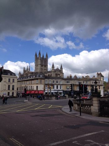 City Of Bath Georgian Architecture Georgian Gothic Gothic Architecture Tourism Clouds Road Street Streetphotography History Historic History