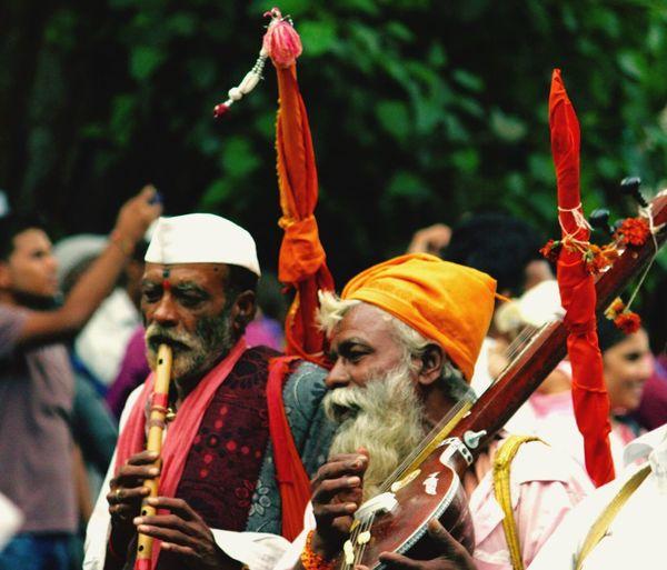 People Old Man Enjoying Life Music Old Friends musical instruments Human Villagers Flute Sitar Beard White Beard Enjoyment Happy Playing Musician