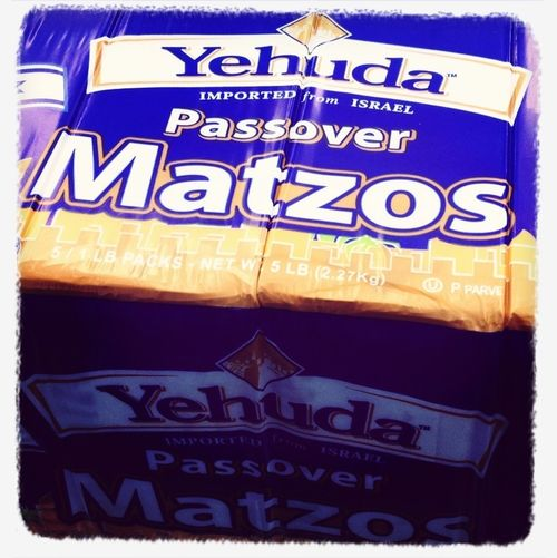 Bought 5lbs Of Matzos On The Weekend - I'm Totally Preparing For Passover