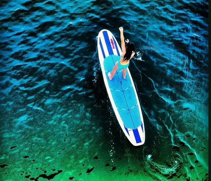My view from the Newport Beach Pier Paddle Boarding Life's A Beach Ocean