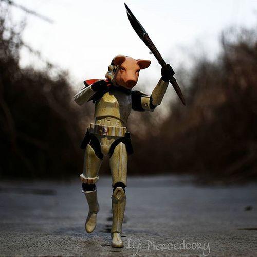 Don't run. I'm going to catch you anyway. Tcb_letsdigibattlenow Porkfacetales TZ_ATA Tz_ata_oneandonly Ata_pickedbypaul