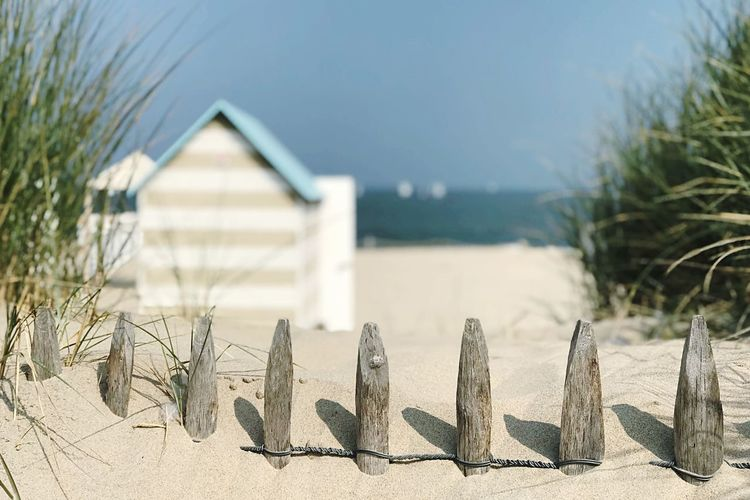 Kris Demey Photography depth of field EyeEm Nature Lover Built Structure Nature Architecture Beach No People Land Sand Day Focus On Foreground Sunlight Plant Building Exterior Building Outdoors Scenics - Nature Sunny Sky Close-up Beauty In Nature Water
