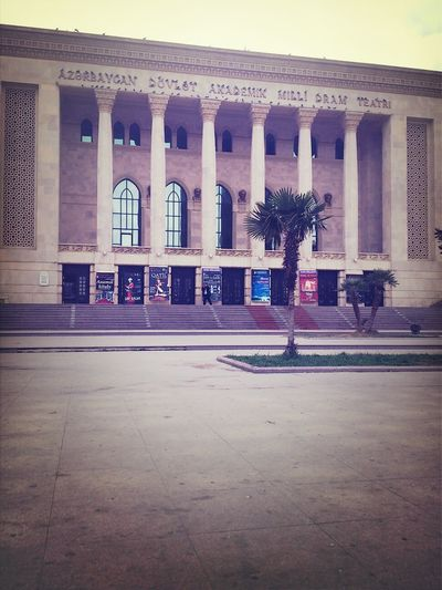 Azerbaijan Baku Teatre  Building