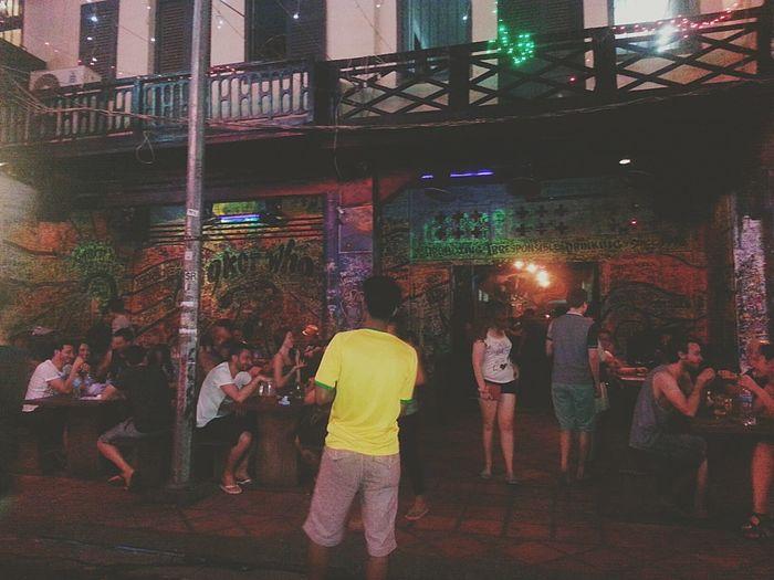 In Cambodia Cambodia Night Club Bar Trip Beer Disco Traveling Club
