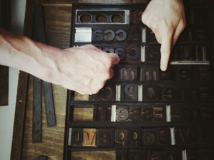Composition   Letterpress Printing Close-up Textures And Surfaces Abstract Wood Type Hands At Work Getting Inspired Old Job  Your Design Story Tipoteca Italiana EyeEm Italy   EyeEm X Lexus - Your Design Story