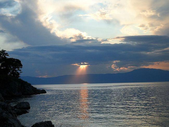Adriatic sea island Krk Croatia Beauty In Nature Horizon Over Water Cloud - Sky