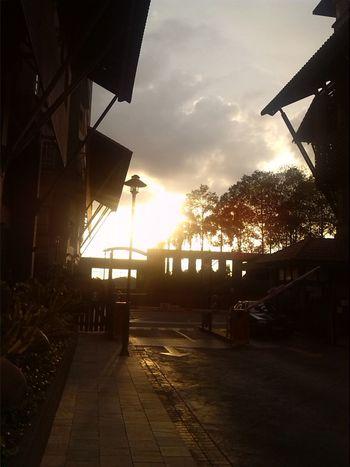 Sunrays Peaceful Evening Beautiful Day Sky