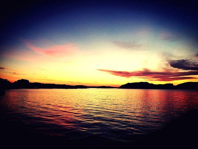 Melting Sea Sundown Eyem Nature Lovers  Eyem Best Shots Sea And Sky Ocean View Norway🇳🇴 Chill
