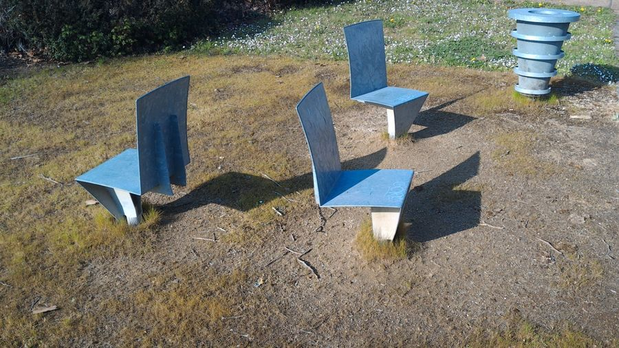 Wild chairs ! Chair Chaises Bench Bancs City Couëron France Seat Seats Ville
