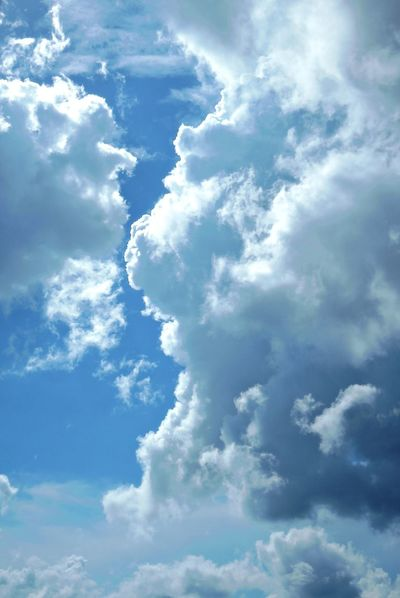 Backgrounds Beauty In Nature Blue Cloud - Sky Cloudscape Heaven Hong Kong Mashmallow Nature Nature Nature Photography Outdoors Sky Sun Sunlight Tranquility Weather White Color First Eyeem Photo