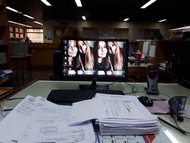 #Work #workingpeople Office Computer Desk Working People